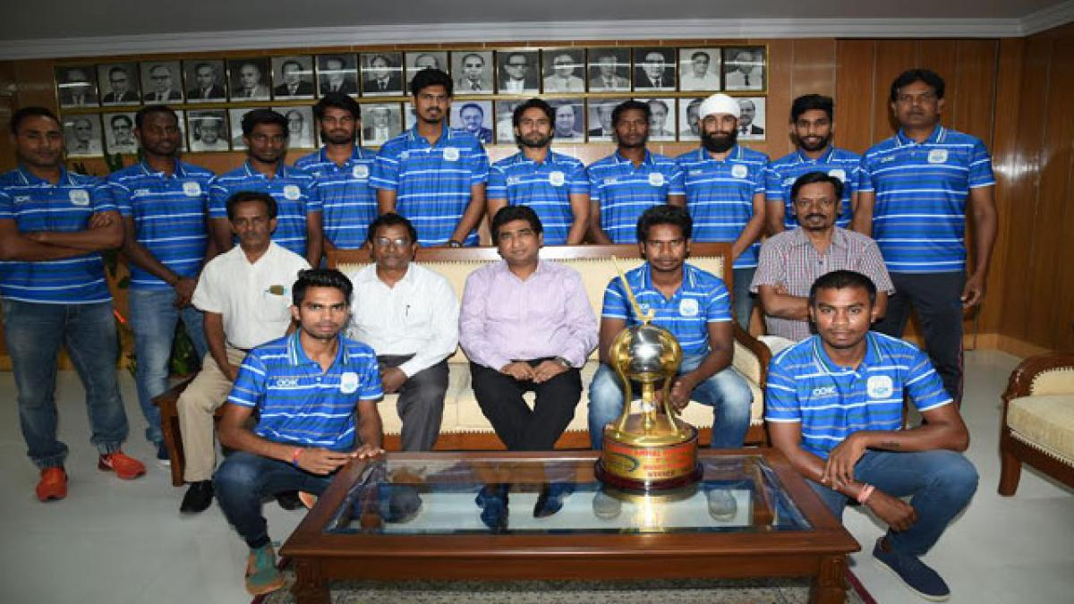 South Central Railway men top in All India hockey