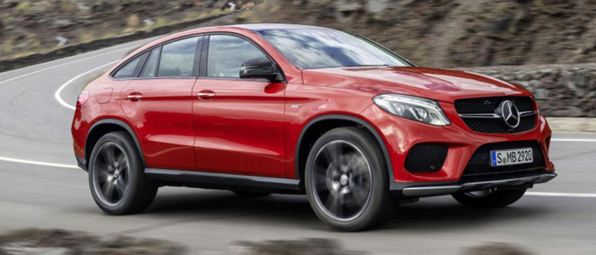 Mercedes-Benz GLE 450 AMG Coupe launched