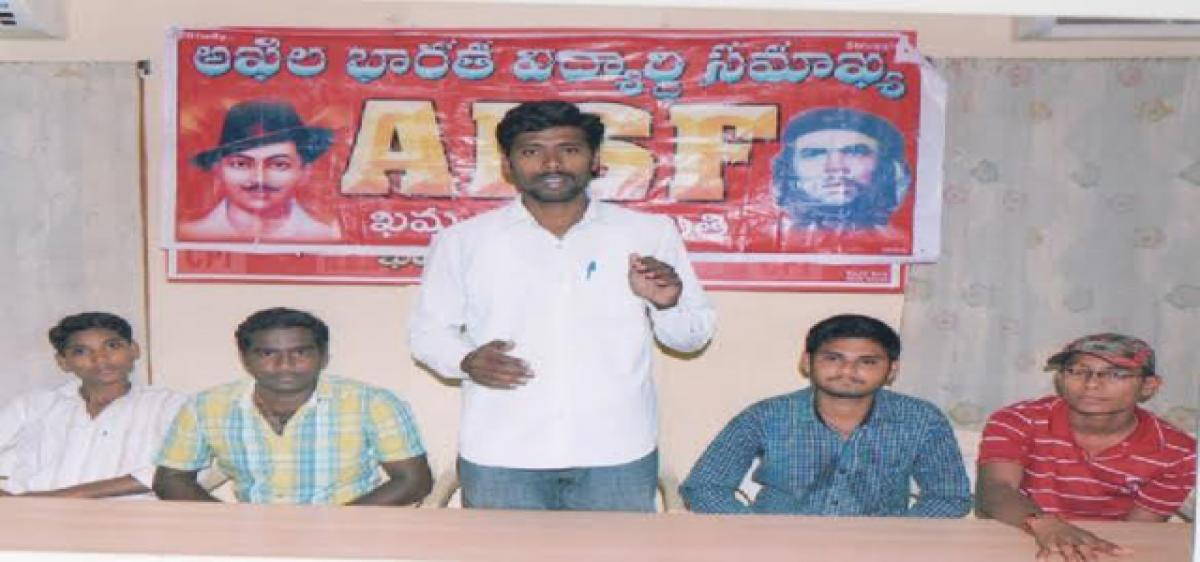 AISF slams KCR, threatens protests