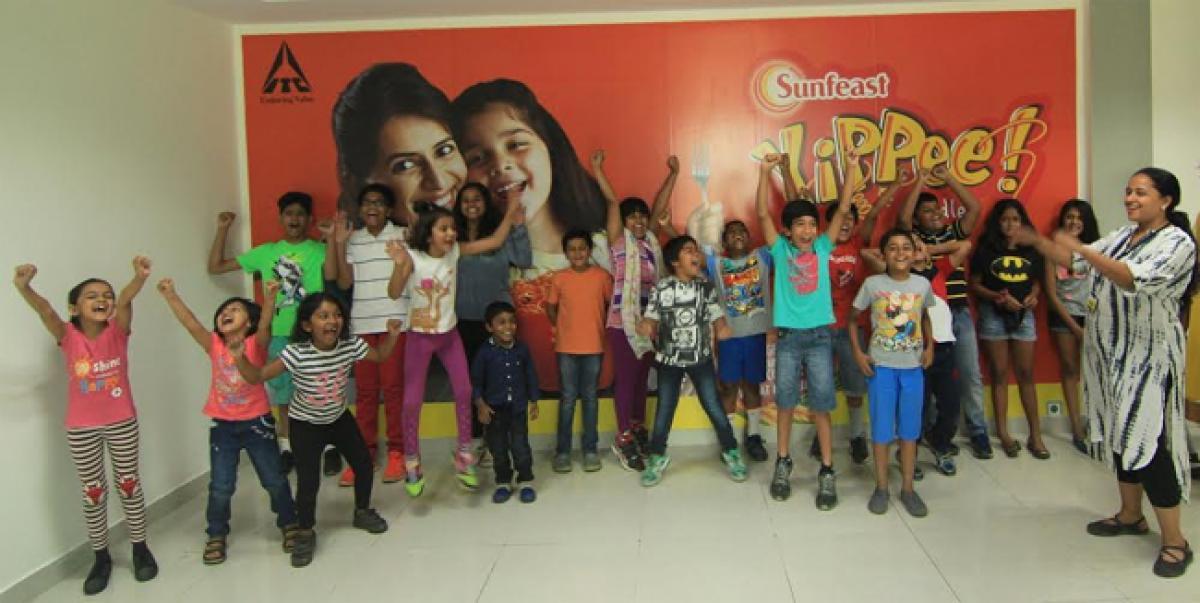 Yippee! say Bengaluru kids at ITC factory Malur
