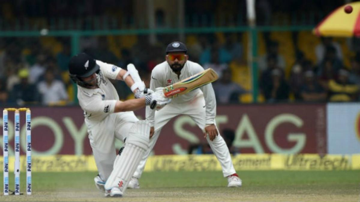 Day 2: India bowled out for 318 runs against New Zealand