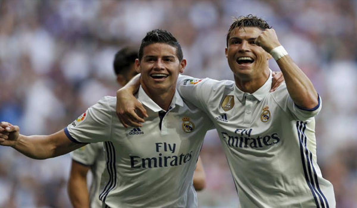 Real Madrid thrash Sevilla