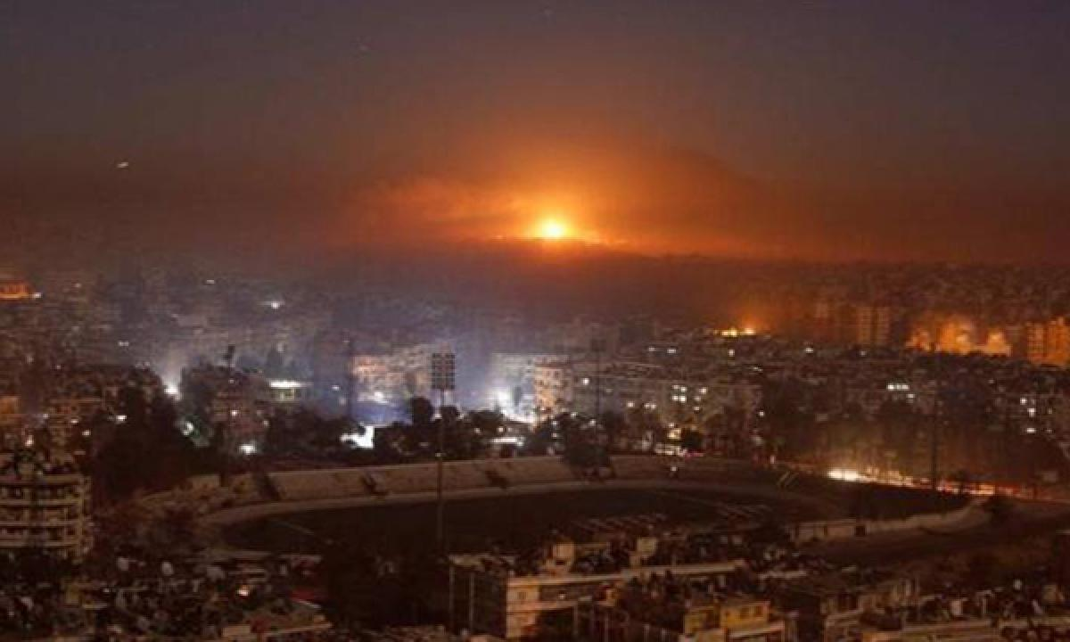 Syrian army captures Aleppo district in overnight fighting amid most intense bombardment