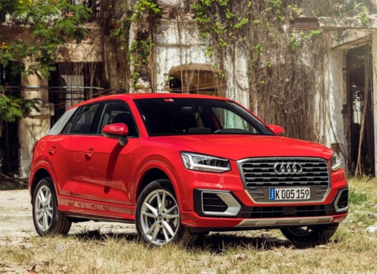 How much does a basic Audi Q2 cost in UK?