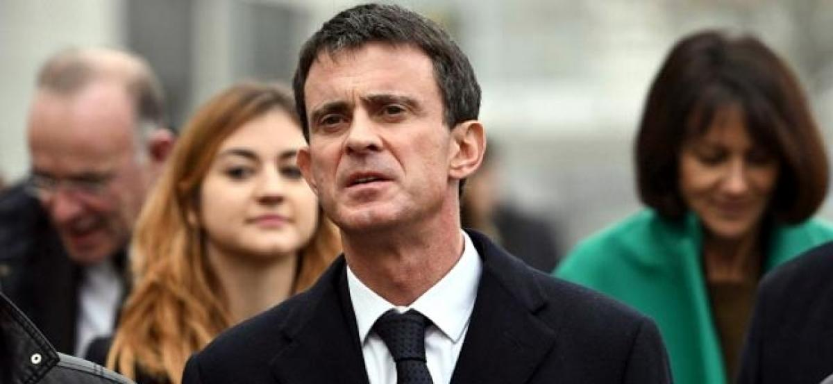 Frances Manuel Valls would give more power to parliament if elected president
