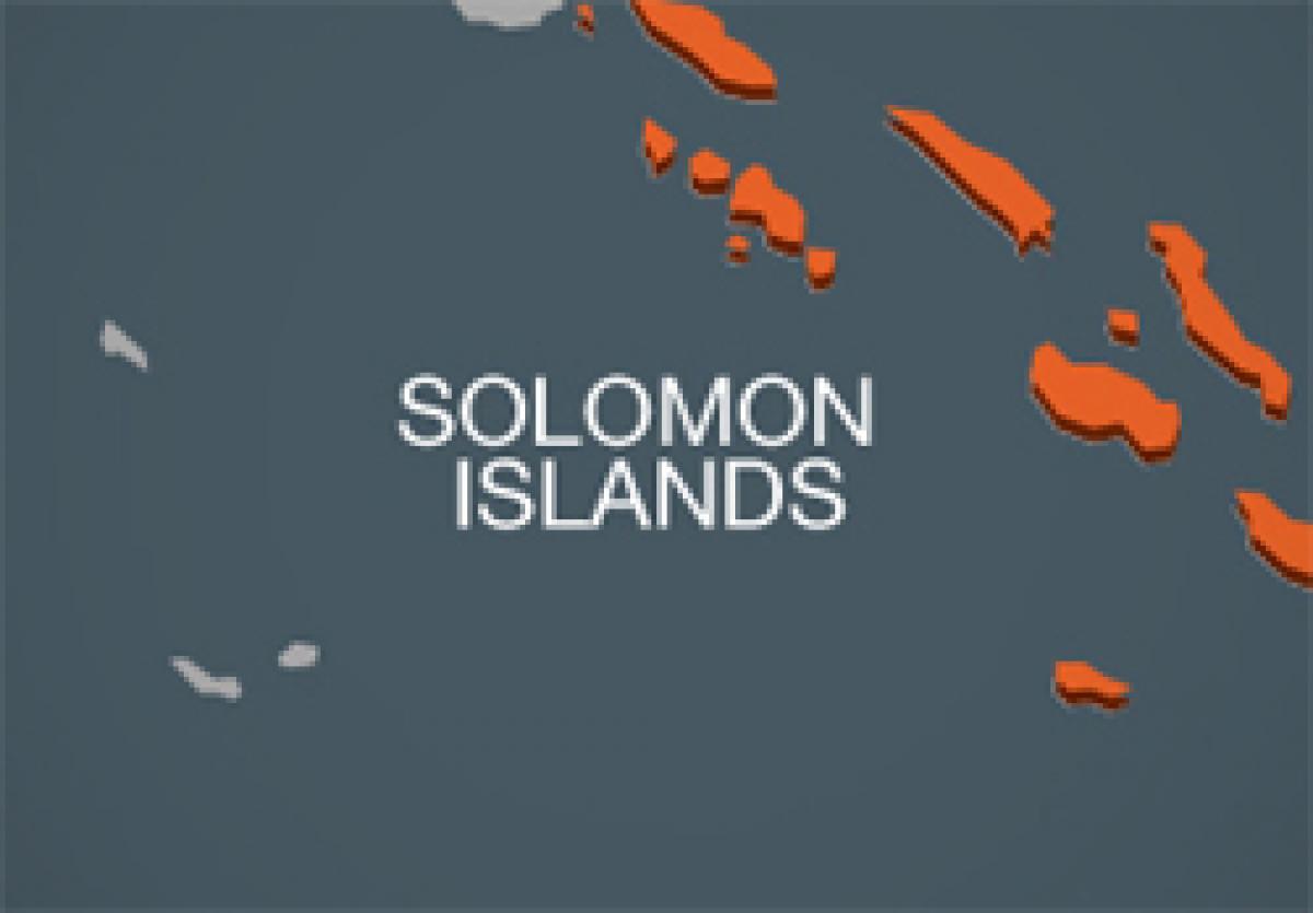 Magnitude 6.5 quake off Solomons; no tsunami