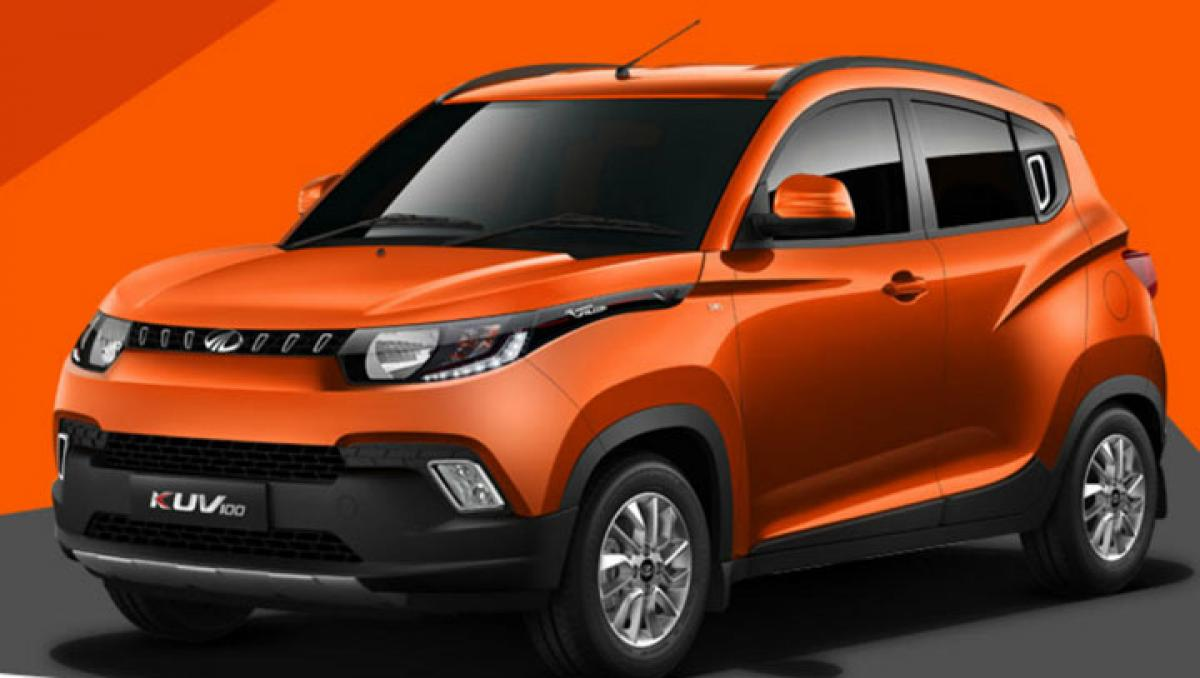 Mahindra KUV100 to be launched on January 15