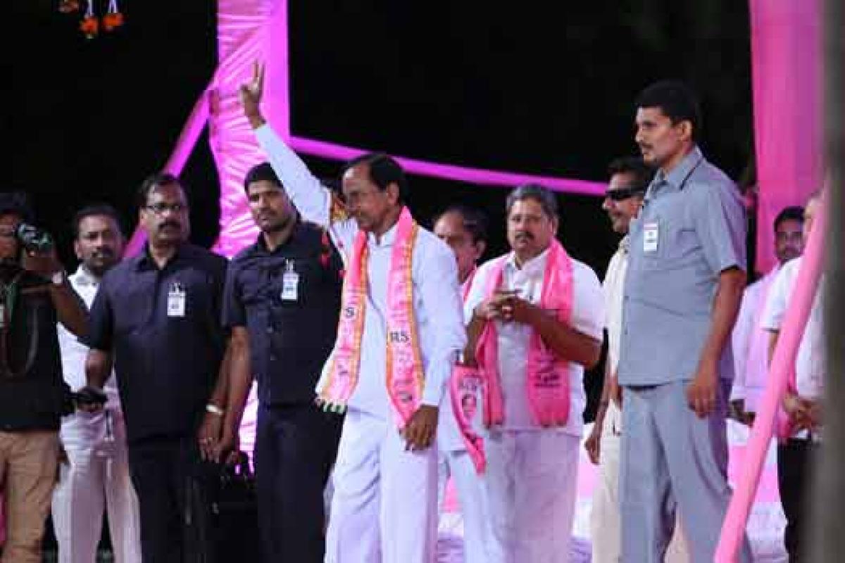 KCR dares to dream Green Telangana