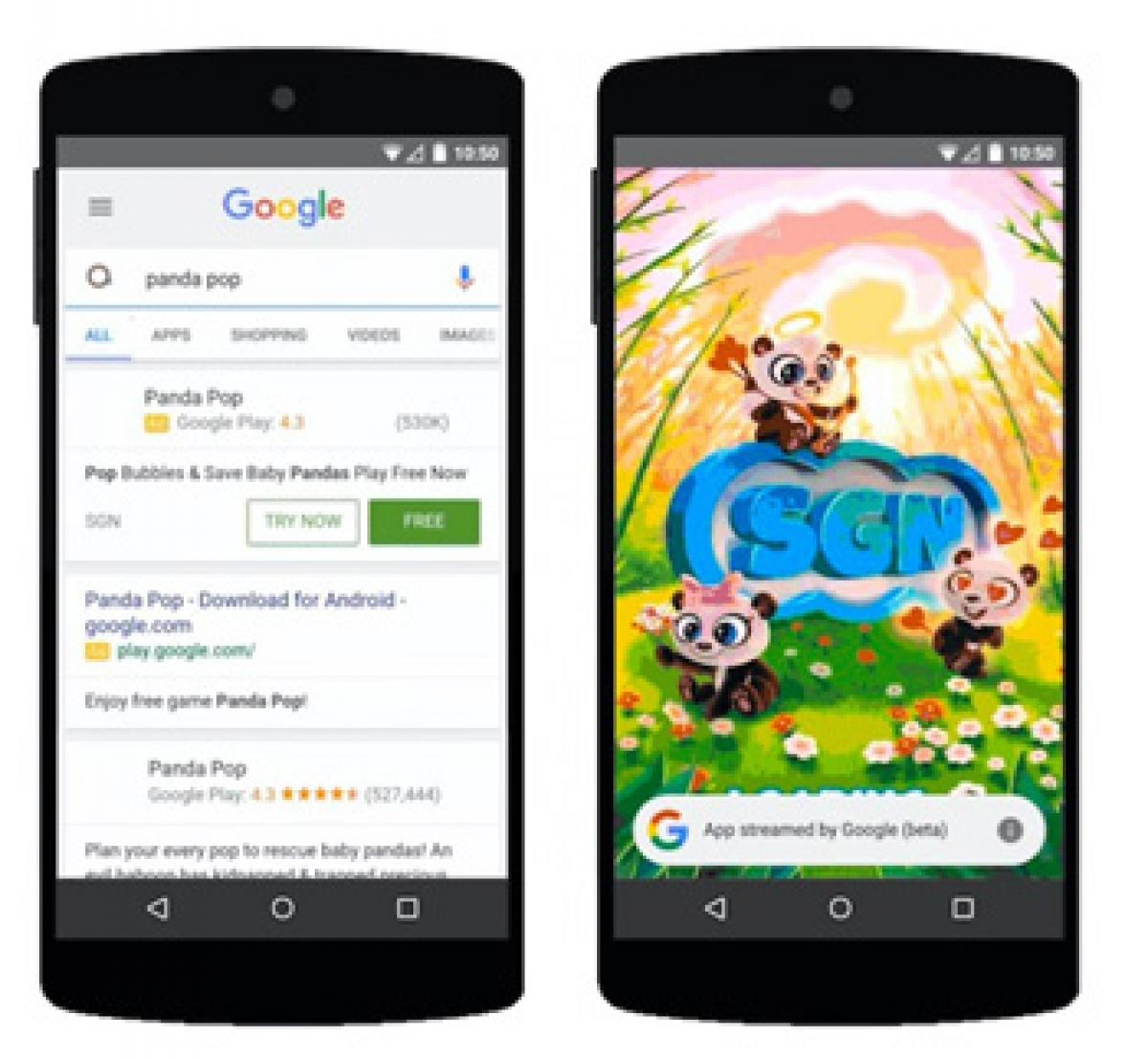 Google will soon let you try Android games in search results