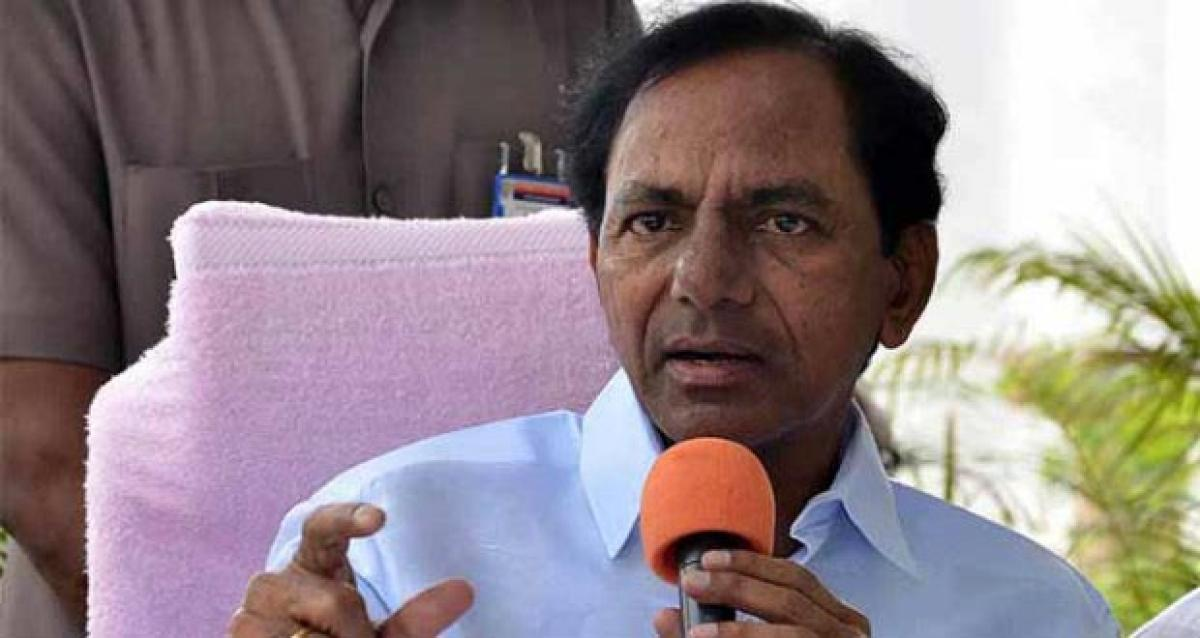 KCR focused on encouraging political migrations