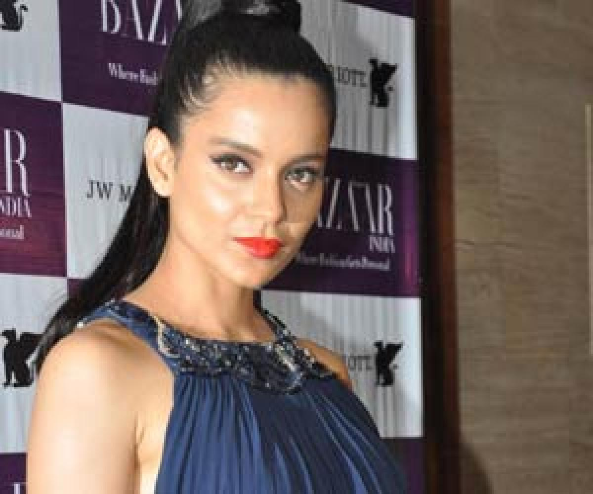 Kangana finally records her statement