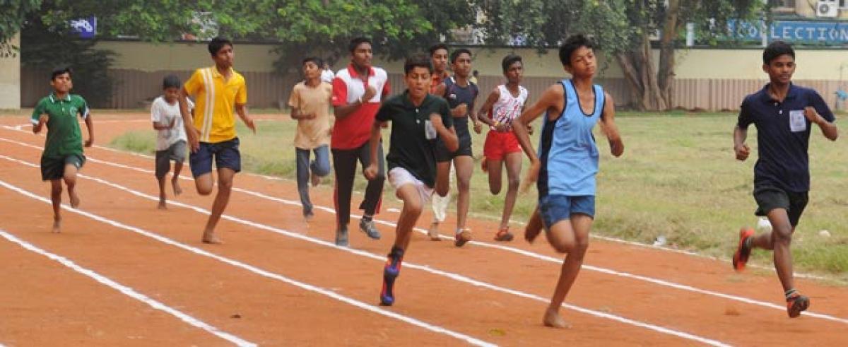 Mini Olympics a big hit among students