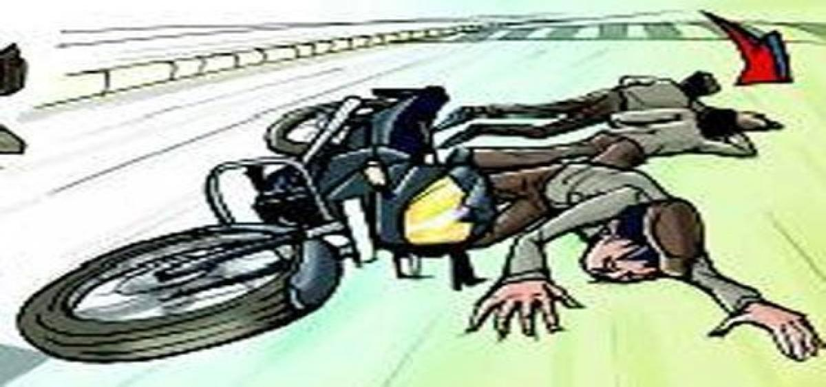 Two students killed in mishap