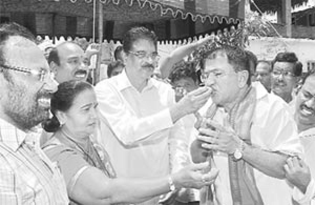 Haribabu sings paeans to PM