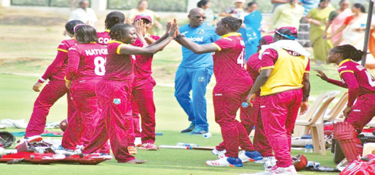 West Indies women taste win