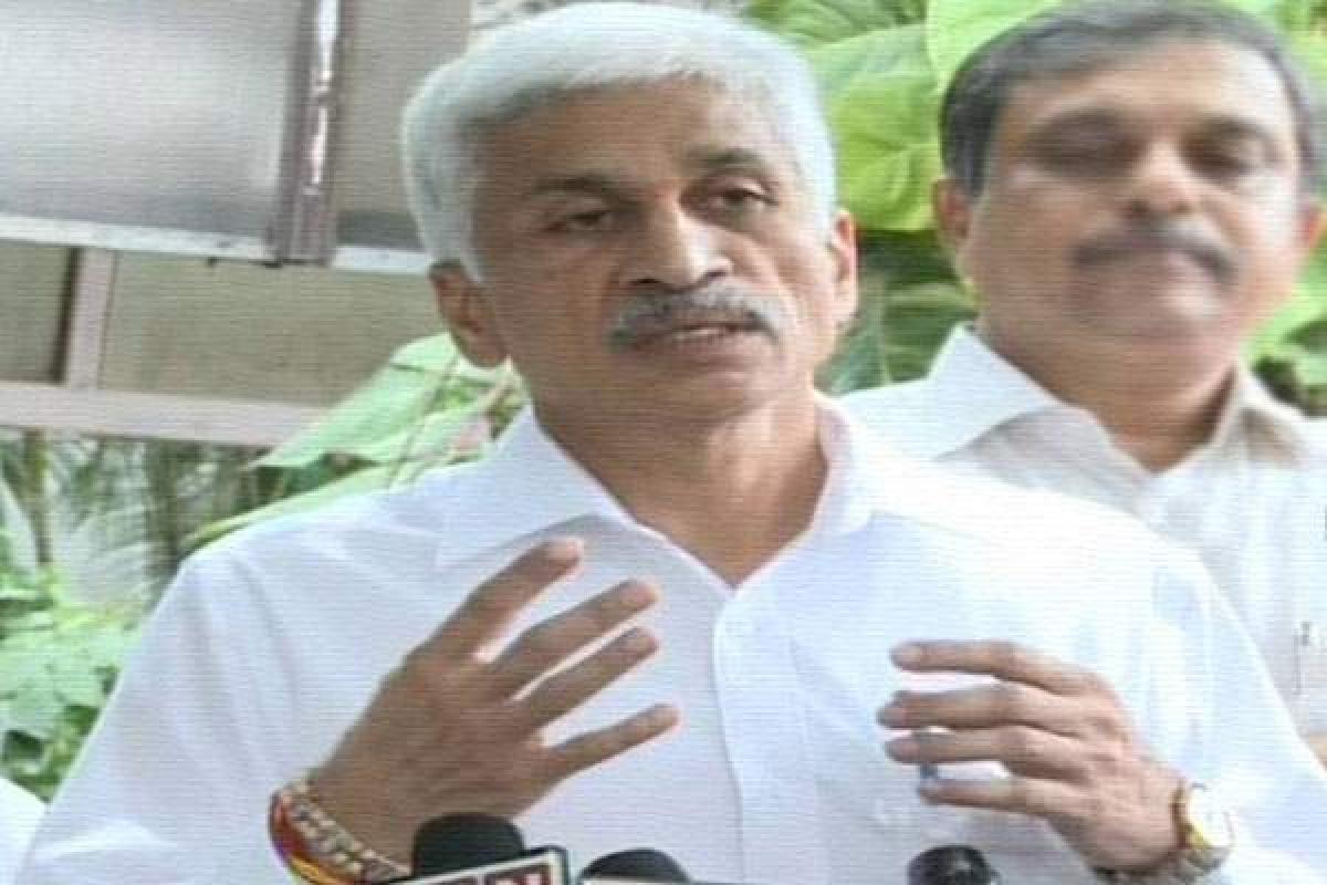 YSRCP MP Vijaya Sai Reddy issues warning against those involved in land mafia