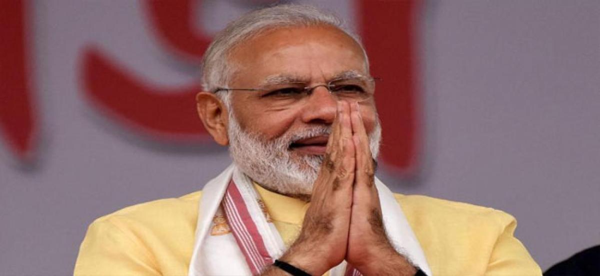 BJP to celebrate NDA's  3 year rule on grand scale
