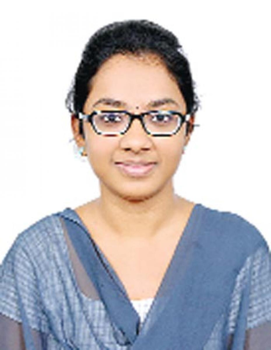 City girl scores 4th rank in EAMCET