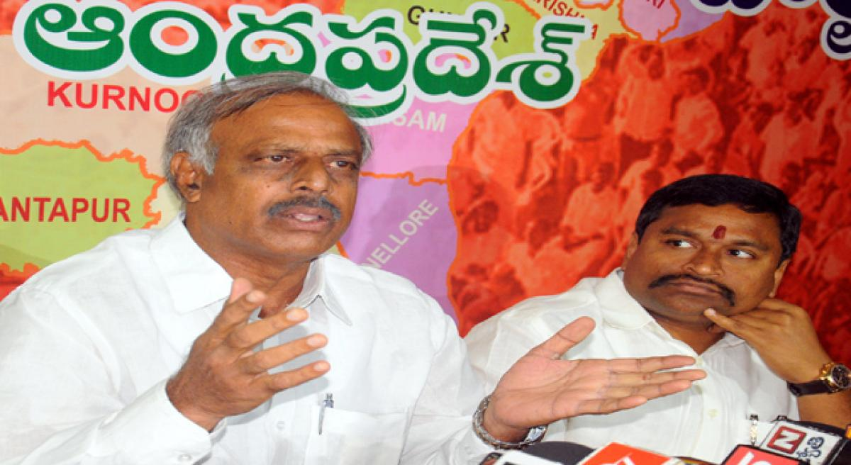 BJP cautions TDP against falling in Opposition trap