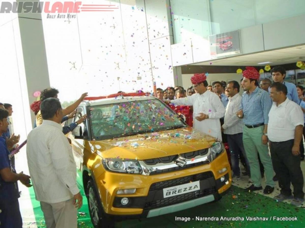 Maruti Vitara Brezza eats into sales of rivals FordEcosport, Mahindra