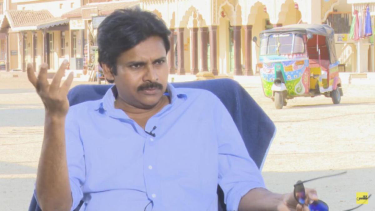 WATCH NOW: The Power Star Pawan Kalyan Interview