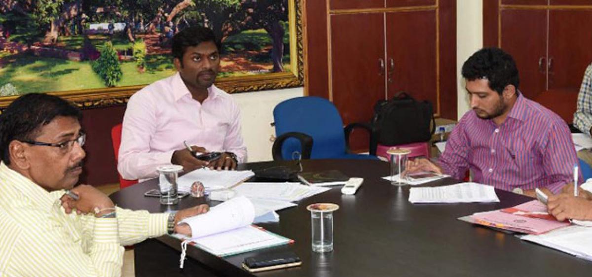 Speed up 2BHK works, Mahbubnagar Collector asks Tahsildars