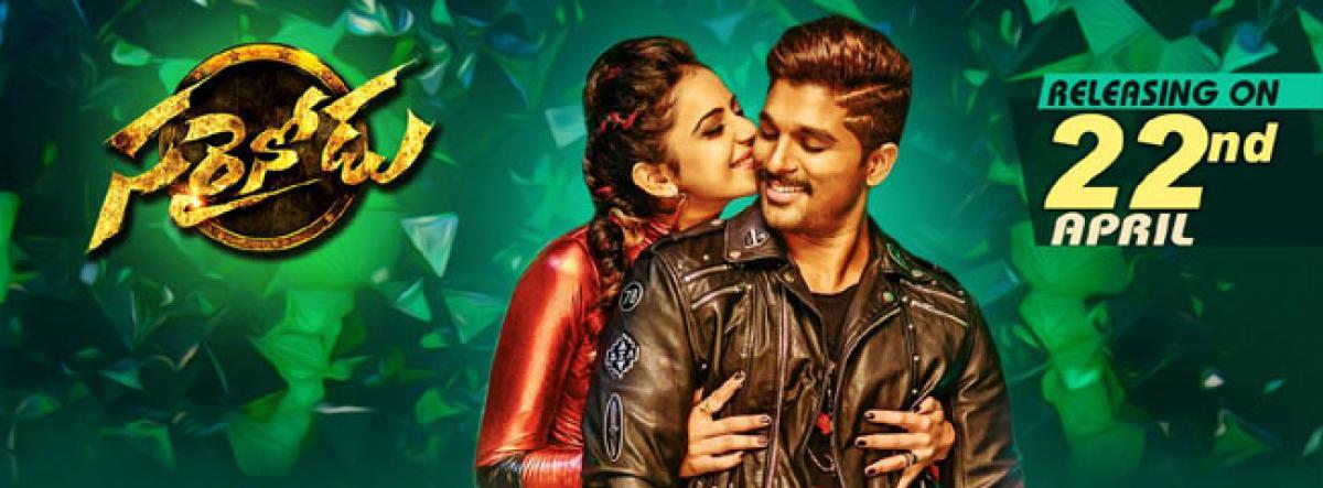 Allu Arjuns Sarrainodu ready to rule the box office