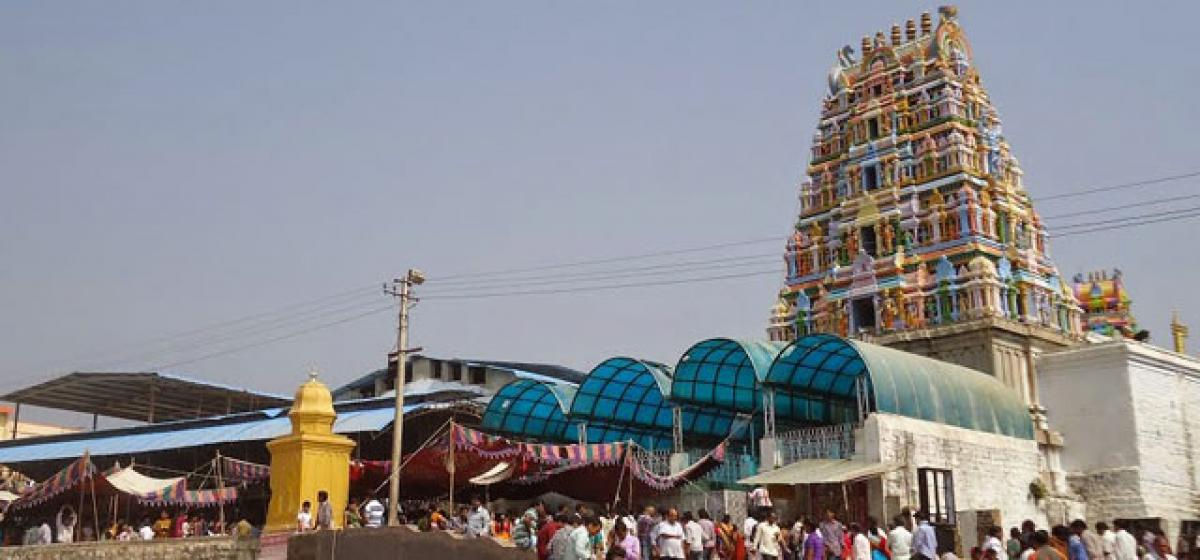Yadadri temple to be shut down from today