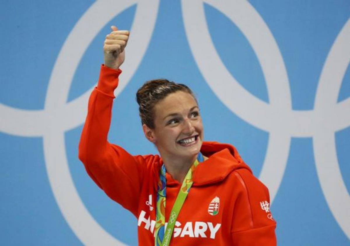 Iron Lady strikes gold  with world record