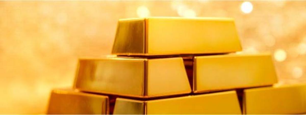 Gold down on upbeat US economic data