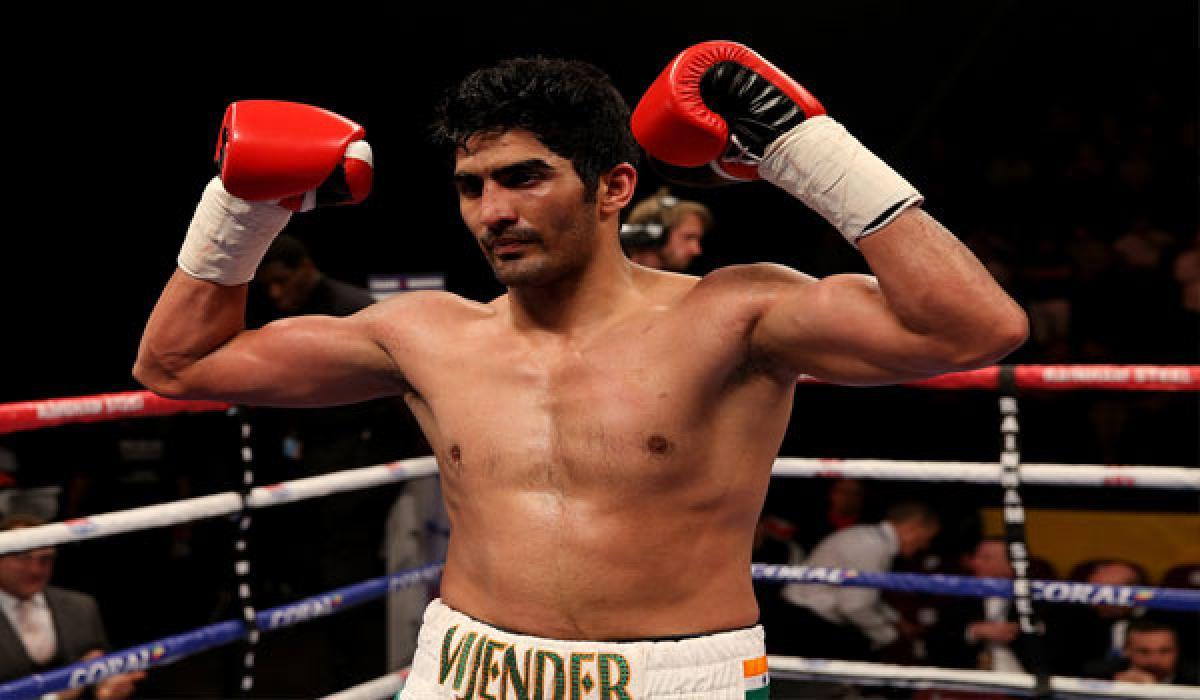 Vijender Singh  severs ties with Queensberry