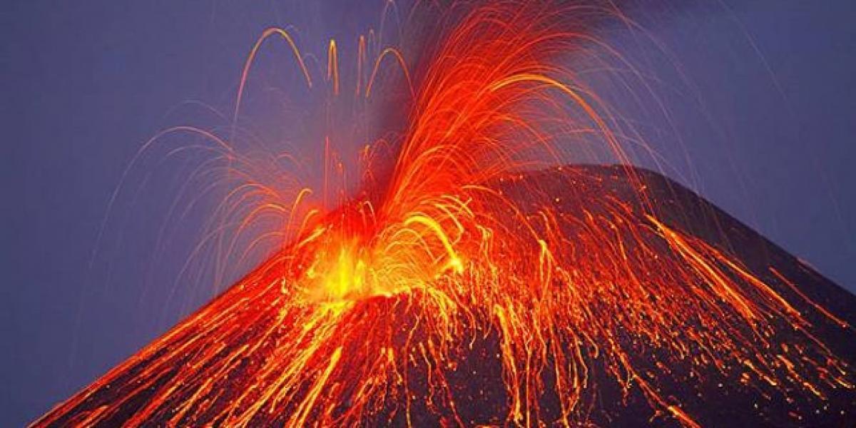 Ancient flood volcanoes triggered climate change?