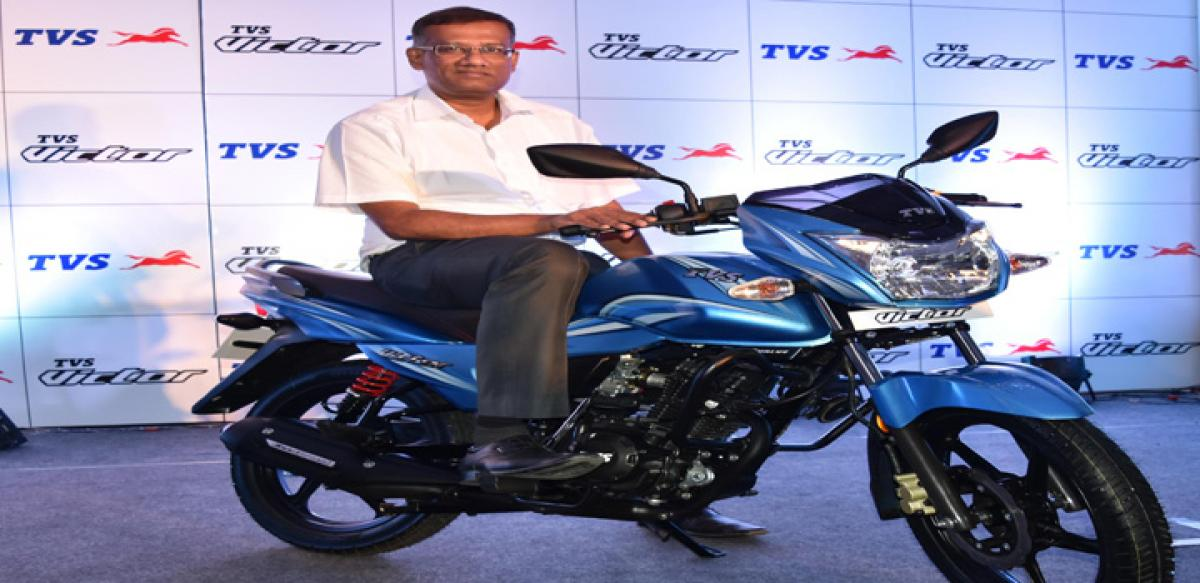 TVS Motor rolls out Victor