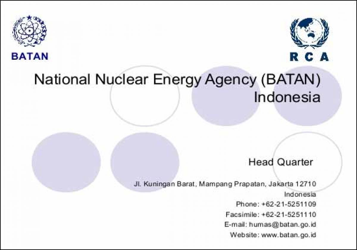 Rusatom Overseas, JSC inks MoU with National Nuclear Agency of the Republic of Indonesia BATAN