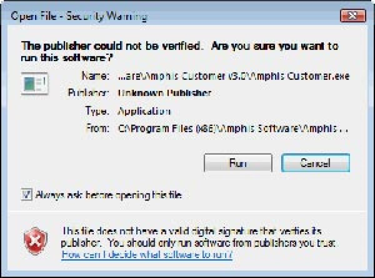 Why people ignore software security warnings