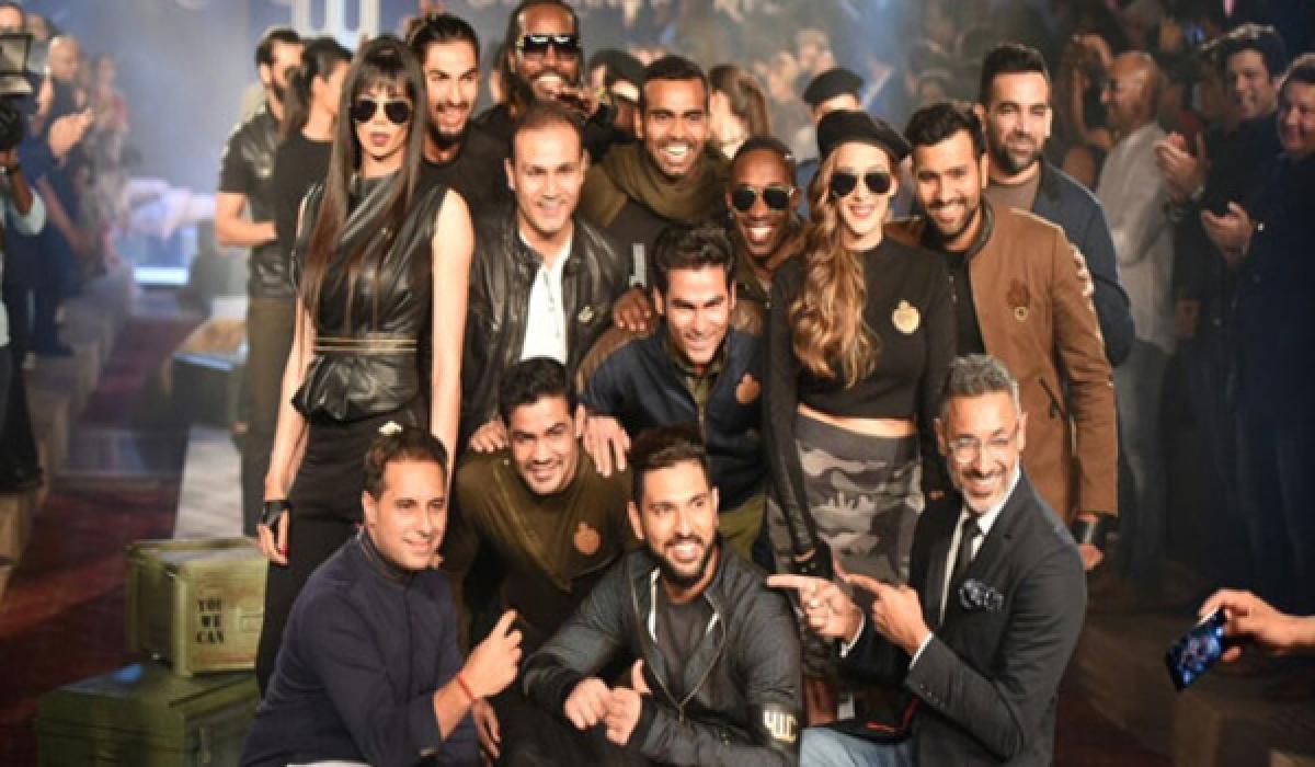 Yuvraj Singh launched his brand YWC Fashion for a cause