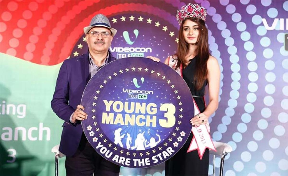 Videocon Telecom announces the 3rd season of its most popular youth engagement program, 'Young Manch'