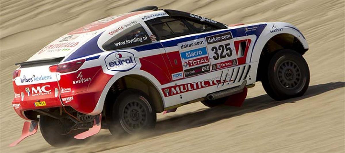 Dakar rally fatal accident
