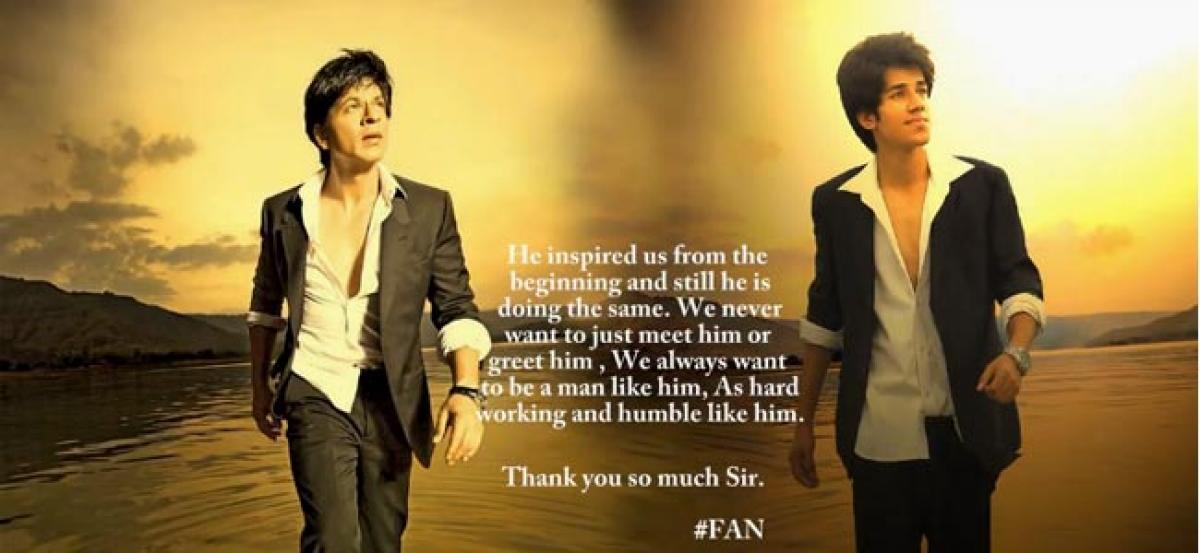SRK offers job to his fan via Twitter