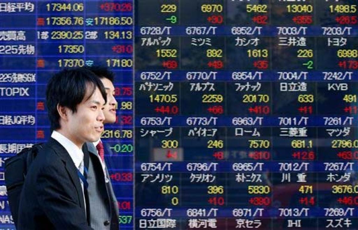 Tokyo stocks end mixed
