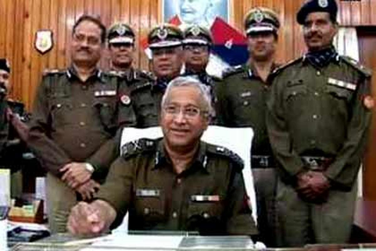 Javed Ahmed takes charge as UPs DGP