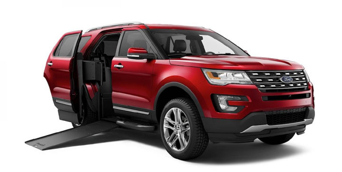 Ford Explorer BraunAbility MXV revealed