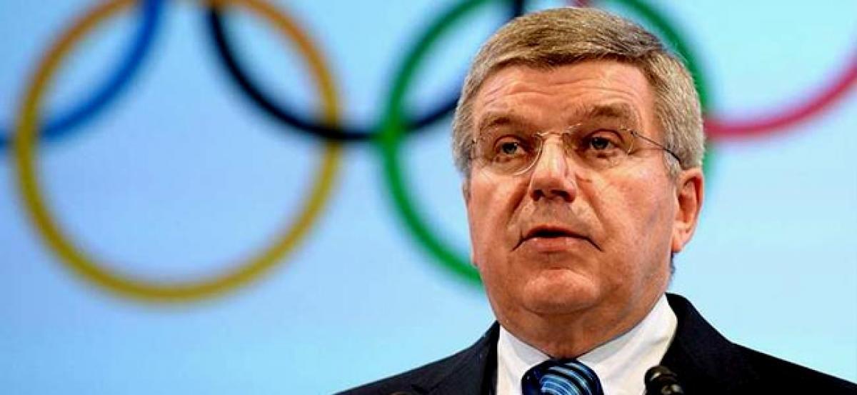 IOC president calls for stronger WADA