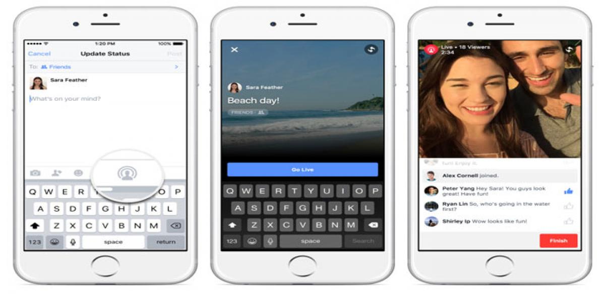 Now, live stream Facebook videos on your iPhone