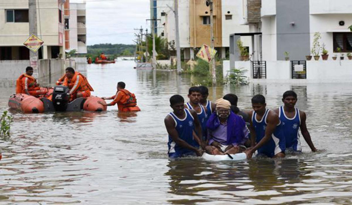 NDRF begins rescue and relief operations in flood-affected areas
