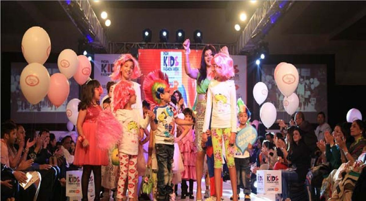 India Kids Fashion Week to start from Friday