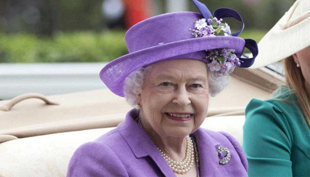 Queen Elizabeth II learns dance mudras