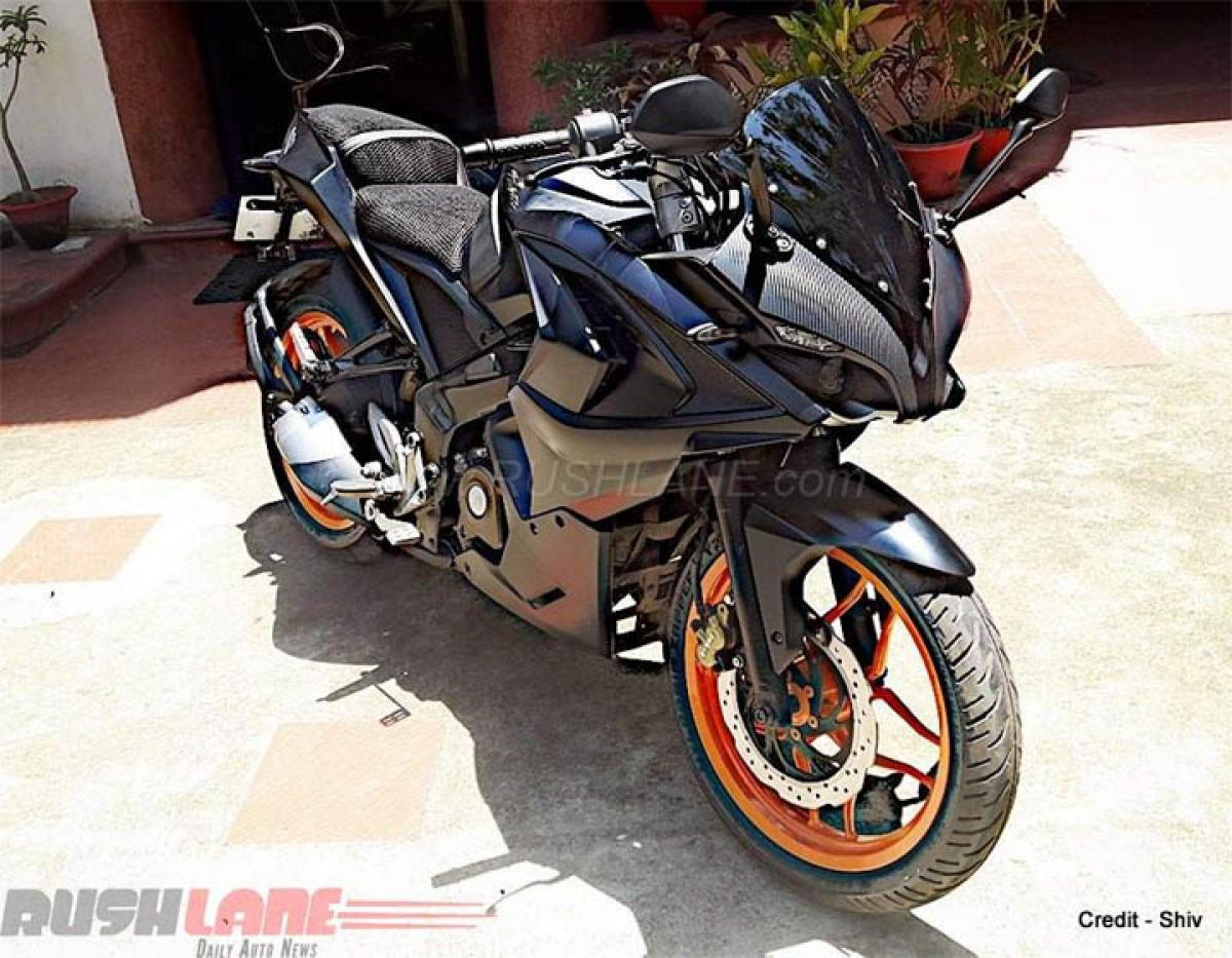 How much does it cost to modify Bajaj Pulsar RS200 Dark Knight