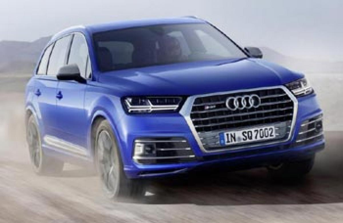 New Audi SQ7 with 429bhp revealed