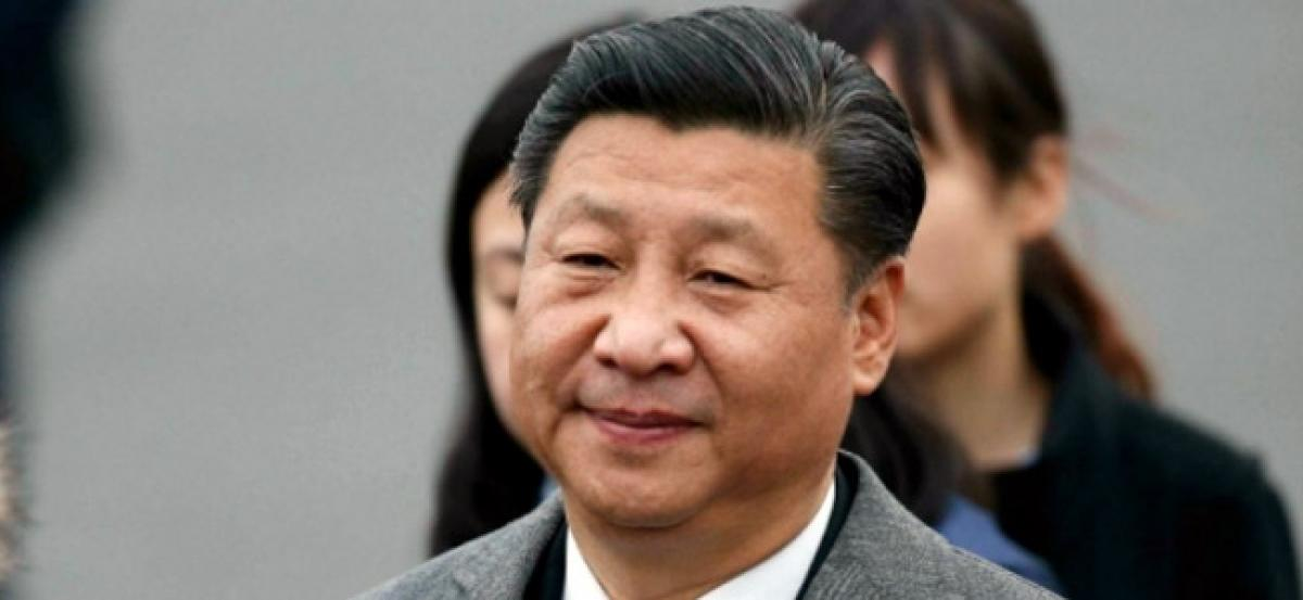 Chinas President Xi Jinping pushes advanced technology for military